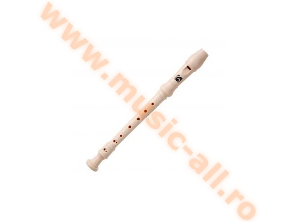 Kirstein C Soprano Recorder German Fingering With Double Hole Beige
