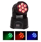LMH350LED- MOVING HEAD 7X10W 4 IN 1 LED RGBW