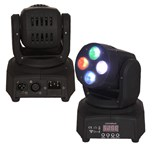 LMH350RGBWMIN- MINI MOVING HEAD RGBW LED 4X10W DMX