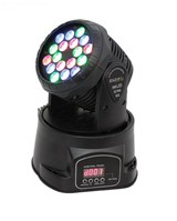 LMH330LED MOVING HEAD LED BEAM 18X3W